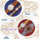 Ernest Borel & Cie Watch Company Your Lucky Star Vintage 1945 Swiss Ad Advert Suisse