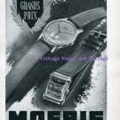 Moeris Watch Company Switzerland Vintage 1945 Swiss Ad Advert Suisse 1940s