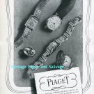 Piaget Watch Company Georges Piaget & Cie Switzerland Vintage 1945 Swiss Ad Publicite Suisse 1940s