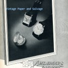1952 Audemars Piguet Watch Company Switzerland Vintage 1950s Swiss Print Ad Advert Suisse