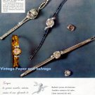 1958 Omega Watch Company Switzerland Diamonds International Awards 1950s Spanish Ad Advert Spain
