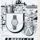 Vintage 1946 Ernest Borel Watch Company E Borel Co Neuchatel Switzerland 1940s Swiss Ad Suisse