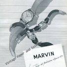 1946 Marvin Watch Company Switzerland Vintage 1940s Swiss Ad Advert Suisse Schweiz