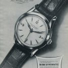 Vintage 1951 Girard-Perregaux SA Gyromatic Watch Advert Publicite Swiss Print Ad Suisse
