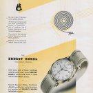 1950 Ernest Borel Watch Company Incastar Swiss Ad Advert Suisse Switzerland