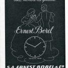 Vintage 1947 Ernest Borel & Co SA Switzerland 1940s Swiss Ad Advert Suisse