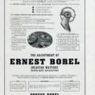 1948 Ernest Borel Watch Company Incastar Watches Advert Swiss Print Ad Publicite Suisse