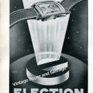 Election Watch Company Switzerland Vintage 1946 Swiss AdAdvert Suisse 1940s