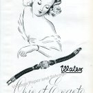 Watex Watch Company Ad. Obrecht SA Switzerland Vintage 1946 Swiss Advert Suisse 1940s