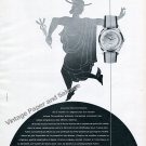1957 Fulton Watch Company G Homberger Switzerland 1950s Swiss Ad Advert Suisse French Text
