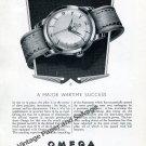 Vintage 1951 Omega Seamaster A Major Wartime Success RAF Pilots 1950s Swiss Ad Advert Suisse