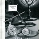 Vintage 1950 Vacheron et Constantin Watch Company Switzerland Swiss Ad Advert Suisse