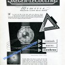 1950 Jaeger-LeCoultre Switzerland Vintage Swiss Print Ad Advert Suisse Memovox