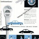 Vintage 1959 Memopark H Beaymann & Cie SA Switzerland 1950s Swiss Ad Advert Suisse