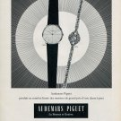 Vintage 1963 Audemars Piguet Switzerland Swiss Print Ad Advert Suisse Schweiz