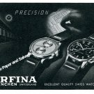 1944 Orfina Watch Company Grenchen Switzerland Vintage Swiss Ad Advert Suisse