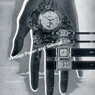 Vintage 1942 Montilier Watch Company Switzerland Original 1940s Swiss Ad Advert Suisse