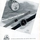 Vintage 1942 IWC International Watch Co Switzerland 1940s Swiss Ad Advert Suisse
