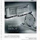 Vintage 1942 Arthur Imhof Clock Company Switzerland 1940s Swiss Print Ad Advert Suisse