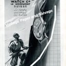 Vintage 1942 Pronto Watch Company Le Noirmont Switzerland Original 1940s Swiss Ad Advert Suisse