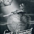 Vintage 1942 Lanco Langendorf Watch Company Switzerland Original 1940s Swiss Ad Advert Suisse