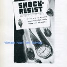 1945 Shock Resist Erismann-Schinz SA Switzerland Swiss Ad Advert Suisse Horology