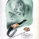 Vintage 1946 Piaget Watch Co Georges Piaget & Cie Switzerland 1940s Swiss Ad Advert Suisse