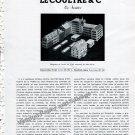 Vintage 1942 LeCoultre & Cie Une Exposition Interessante de la Maison Le Coultre Swiss Suisse