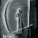 Vintage 1942 Mimo Watch Company La Chaux-de-Fonds Switzerland 1940s Swiss Print Ad