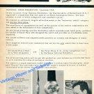 1964 Universal Watch Company Universal Geneve Life At Universal Swiss Print Ad