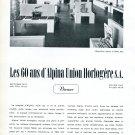 1943 Alpina Watch Company 60th Anniversary Alpina Union Horlogere SA Switzerland