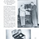 Vintage 1954 Omega Constellation Watch Advert Duc d' Edimbourg Vintage Swiss Print Ad