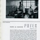 Vintage 1943 Dans La Maison Patek Philippe & Co Watch Company Geneva Switzerland 1940s