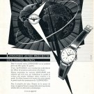 Vintage 1954 Longines Watch Company Symbol Pour Une Elite Eprise de Qualite Swiss Advert