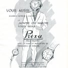 Vintage 1954 Prexa Automatic Watch Advert 1950s Swiss Print Ad Switzerland Suiza