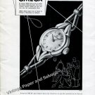 Vintage 1942 Omega Watch Company Switzerland Women's Watch Advert Swiss Print Ad