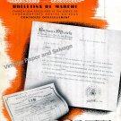 1942 Rolex Watch Company 20000 Bulletins de Marche Vintage 1940s Swiss Print Ad Suisse