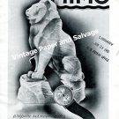 Vintage 1943 Mimo Watch Company Switzerland Original 1940s Swiss Print Ad Advert Suisse