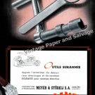 Vintage 1943 Roamer Watch Company Meyer & Studeli SA Switzerland 1940s Swiss Print Ad Suisse