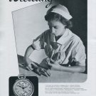 Vintage 1940 Breitling Chronograph Pulsometer Stopwatch Advert Montbrillant Swiss Print Ad