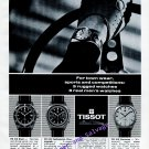 Vintage 1968 Tissot Watch Company Switzerland Swiss Print Ad Publicite Sports Competitions Diving