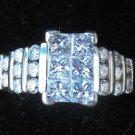 114 KT WHITE GOLD WITH 1.6 CTTW ENGAGEMENT RING,