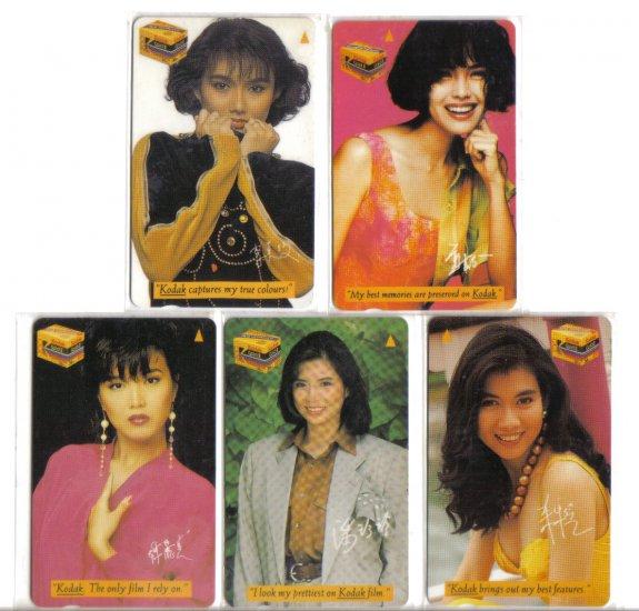 TCS Actress (mint) phonecard