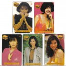 TCS Actress (mint) phonecard