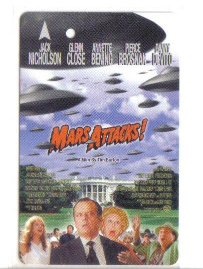 Mars Attck Limited Edition Transport card