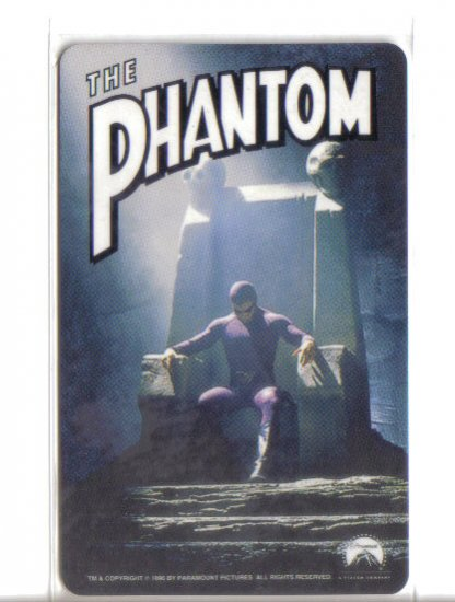 Phantom Limited Edition Movie Value Card