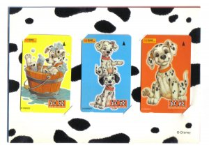 101 Dalmation (Mint) Phonecard Limited Edition - Set 0f 3