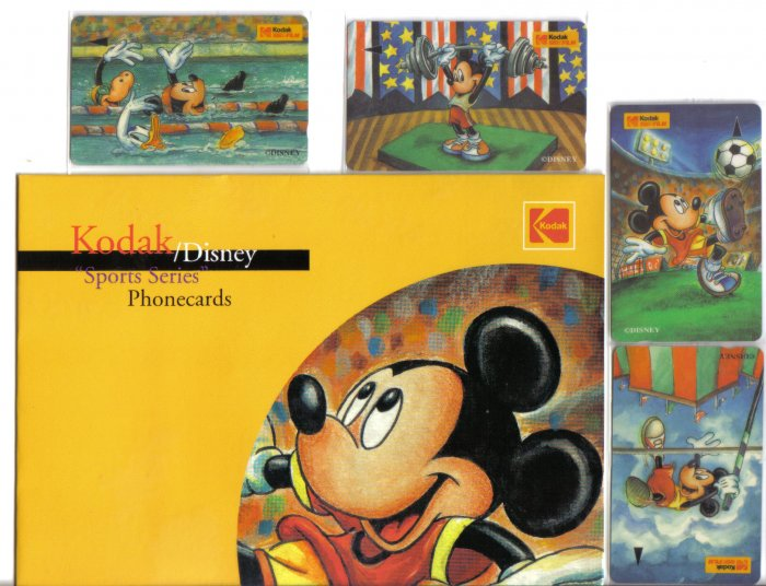 Disney Sport series (mint) Limited edition set of 4