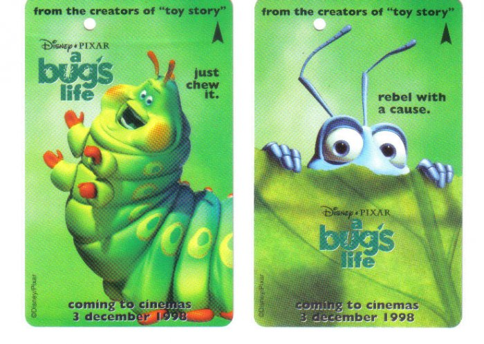Bug's Lfe (rare) Transport card