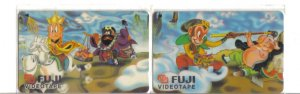 Sun Mu Kong (mint) Phonecard Limited Edition. Set of 2